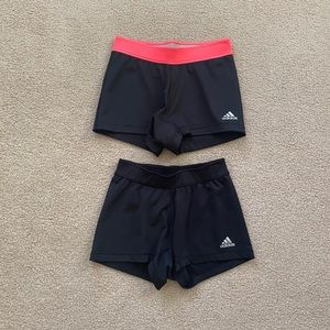 Adidas Women's Spandex/Sports Shorts (Small)